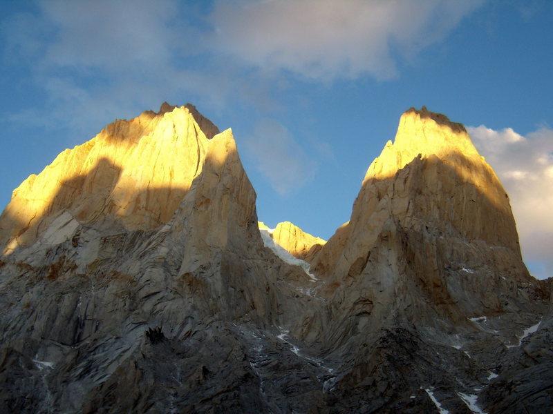 Rock Climbing Photo: Fitzroy, Lasilla, Desmachada, Poincenot.  January ...