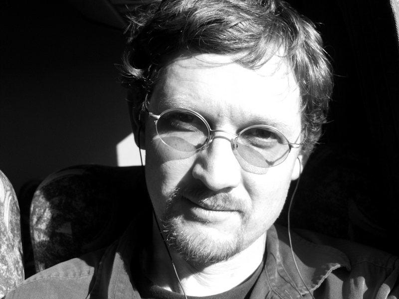Self Portrait on the bus to El Chalten.  Dec 2008.