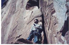 Rock Climbing Photo: Posing!