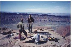Rock Climbing Photo: Summit meeting