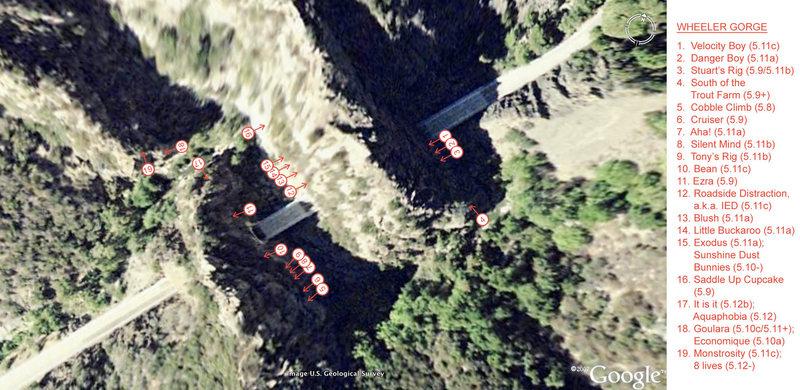 2009 Wheeler Gorge topo