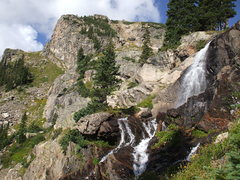 Rock Climbing Photo: Natural falls hiking up to Swissco, Fall River Roa...