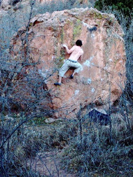 Rock Climbing Photo: Bouldering at the Snake Pit.