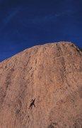 Rock Climbing Photo: Chute to Kill (5.10c), Joshua Tree NP. Photo by Gr...