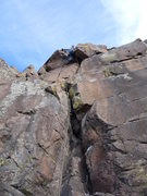 Rock Climbing Photo: The overhang....