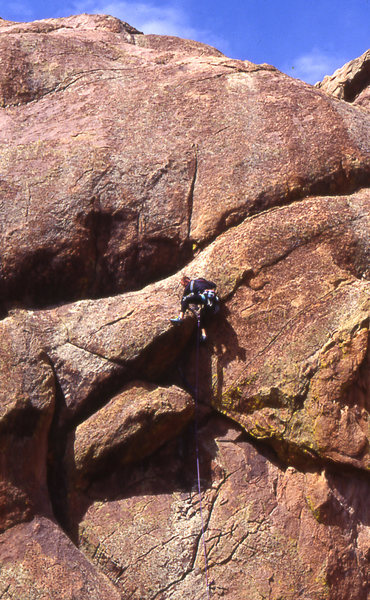 Rock Climbing Photo: A man known only as Gonzo