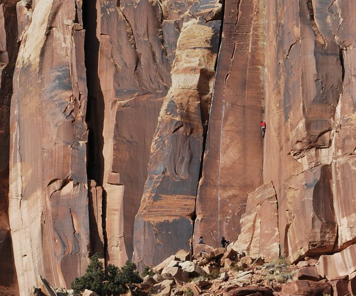 Rock Climbing Photo: Jay Knower climbing Three Strikes. Photo by Kayte ...