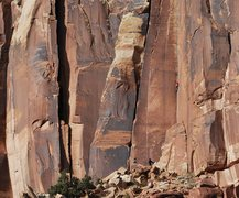 Rock Climbing Photo: Jay Knower climbing Three Strikes. Photo by Kayte ...