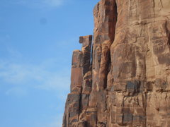 Rock Climbing Photo: Abraxes Tower from the roadside