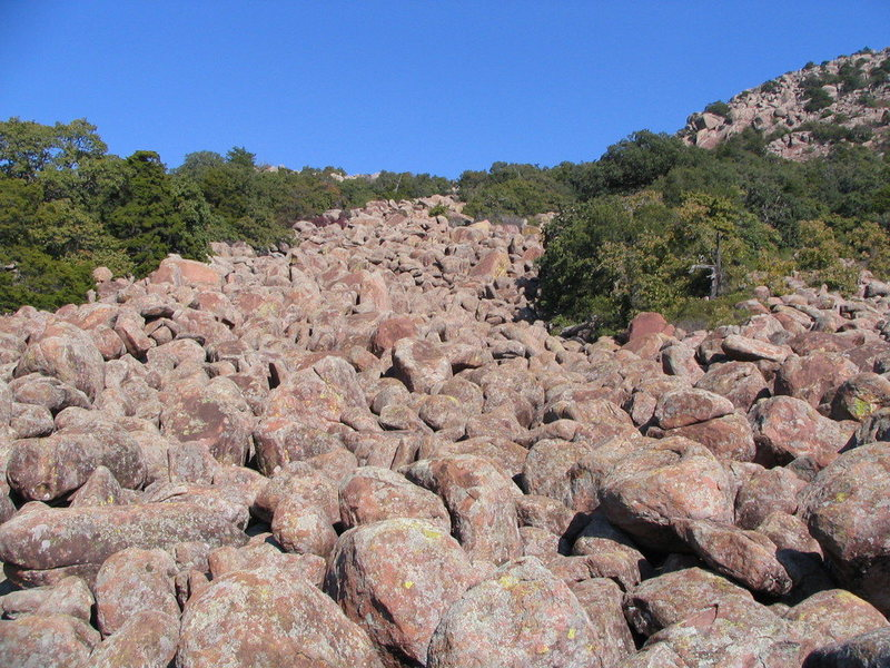 Boulder Flow on Mt Scott, WMWR