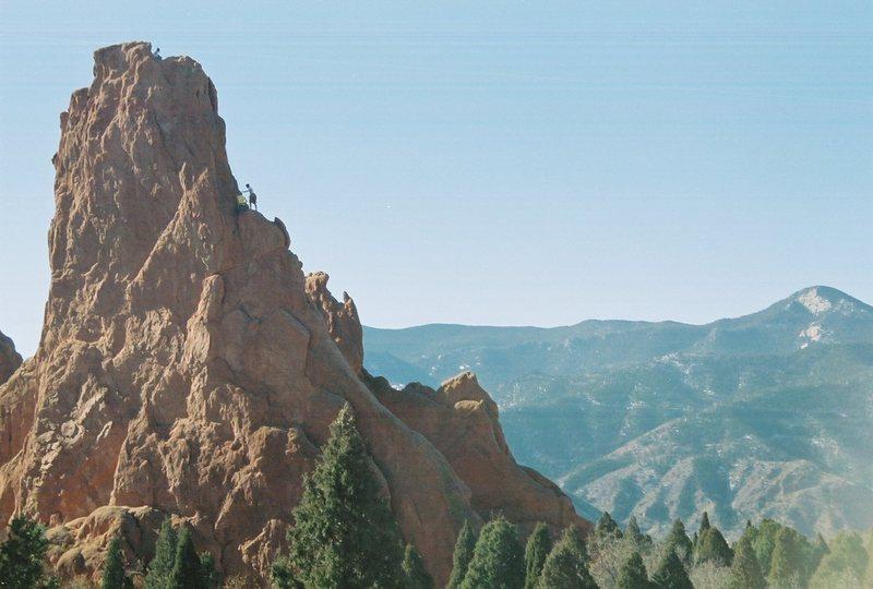 Montezuma's, unknown climbers.