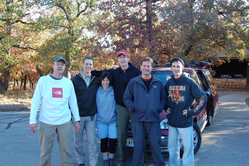 Rock Climbing Photo: Scott, Chuck, Brigitte, Mike, Keith & Josh ready t...