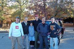 Rock Climbing Photo: Scott, Chuck, Brigitte, Mike, Keith & Josh ready t...