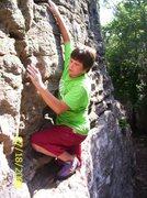 Rock Climbing Photo: Nate @ Chandler