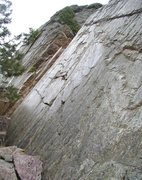 Rock Climbing Photo: Faulted surface. Supremacy Rock. El Dorado Canyon,...