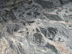 Rock Climbing Photo: Xenoliths in Clear Creek Canyon, CO. These angular...