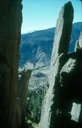 Rock Climbing Photo: The Altar, Monastery, CO. this rock may be 1.7+ bi...
