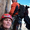 Kelly W. and I somewhere on Pervertical
