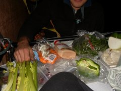 Rock Climbing Photo: Thanksgiving diner 08 on Moonlight. This year we w...
