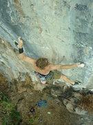 Rock Climbing Photo: J.foley entering the crux of Hang Time Photo: Dan ...