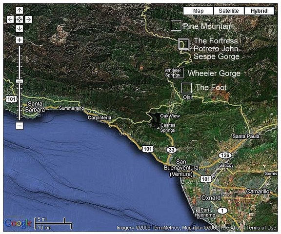 Hwy 33 (Ventura/Ojai) Overview