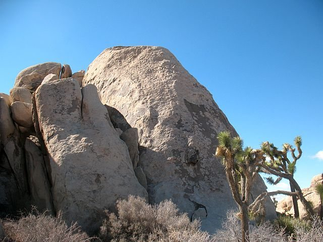 Hall of Horrors - East Wall (North End), Joshua Tree NP <br>