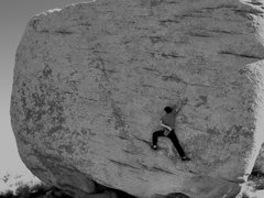Rock Climbing Photo: Dustin on Slashface
