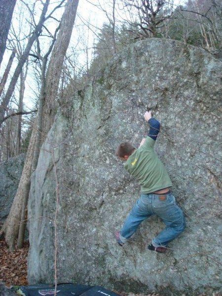 Rock Climbing Photo: secret spot