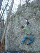 Rock Climbing Photo: secret spot