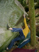 Rock Climbing Photo: Marc-Andre Leclerc on The Warm-up Traverse