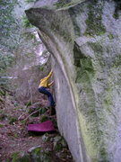 Rock Climbing Photo: Marc-Andre Leclrec on Nate's Problem