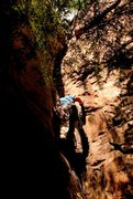 Rock Climbing Photo: Friggin Offwidth