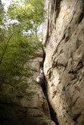 Rock Climbing Photo: Still strugglin'