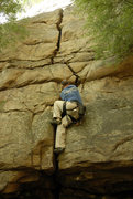 Rock Climbing Photo: Nice to TR after a hellish lead