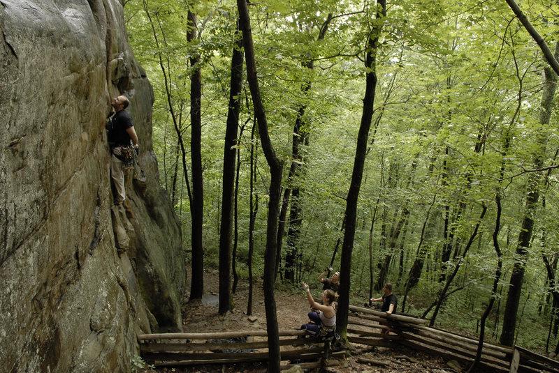 "Rock Climbing Photo: The ""apparent show"""