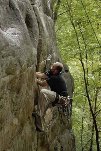 Rock Climbing Photo: ohhh the pain....