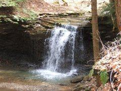 Rock Climbing Photo: Waterfall at Piatt