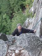 Rock Climbing Photo: Joe Seconding Front C