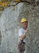 Rock Climbing Photo: Before leading Conn's West