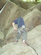 Rock Climbing Photo: Don't know why he racked up...I had to lead the da...