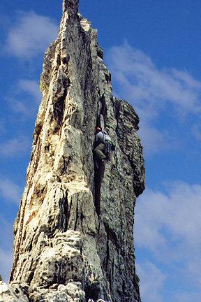Rock Climbing Photo: Gunsight to South Peak....my absolute favorite rou...