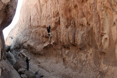 Rock Climbing Photo: Toprope!