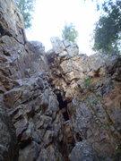 Rock Climbing Photo: The mine entrance