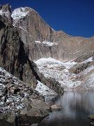 Rock Climbing Photo: Longs Peak August 2008