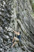 Rock Climbing Photo: The frontier 5.7