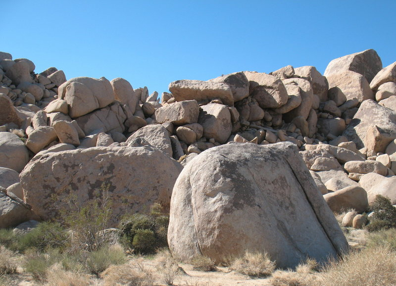 The Tour Boulders, Joshua Tree.