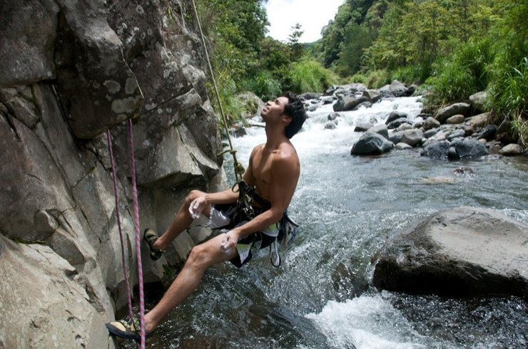 Over the River in Boquete - Paradiso Climbing