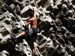 Rock Climbing Photo: El camino de Los locos 5.11a