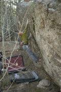 Rock Climbing Photo:  so close bo fux