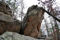 Rock Climbing Photo: Another shot of the route and the left side of the...